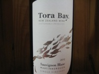 Tora Bay Sauvignon blanc Martinborough '16
