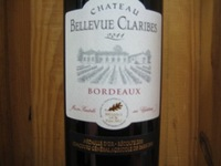 Chateau Bellevue Claribes Bordeaux '15