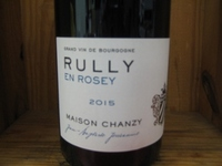 Maison Chanzy Rully En Rosey Rouge '16