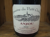 Domaine du Petit Clocher Anjou rouge '14 WE88