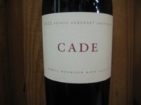 Cade Estate Cabernet Sauvignon Howell Mountain '14