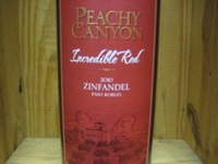 "Peachy Canyon Zinfandel ""Incredible red"" '15"