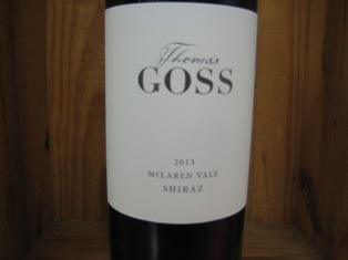 Thomas Goss Shiraz 'McLaren