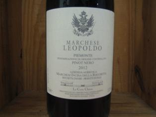 Marchese Leopoldo Pinot nero